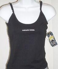 Sports Camisole Cami Black Gold's Gym Gym-Dri XL