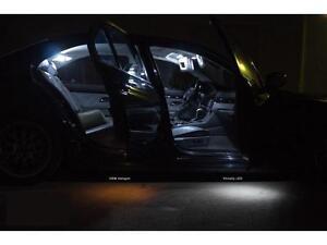Bmw 5 Series F10 Led Xenon White Interior Lights Bulbs Kit 6000k
