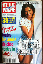 b)Télé Poche 5/02/1996; Demi Moore/ Interview Michelle Pfeiffer/ Laura Antonelli