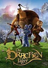DIE DRACHENJÄGER (KINOFILM) DVD ZEICHENTRICK NEU