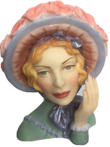 Vintage Cameo Girls LV-014 2000 Edition Angeline 1847 Blue Bonnet Beauty IOB
