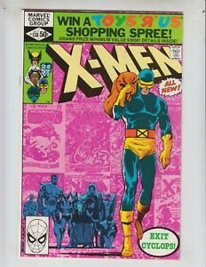 X-Men-138-VF-8-5-10-80-Cyclops-leaves-Dazzler-appearance-History-of-XMen