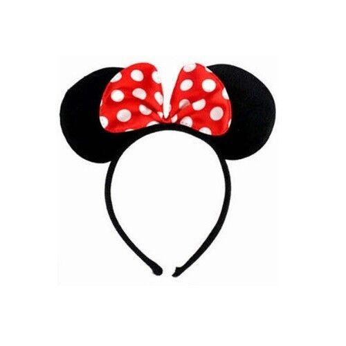 BNWT Minnie Mouse Ears Headband Disney Land World Sorcerer Mickey Rose Gold