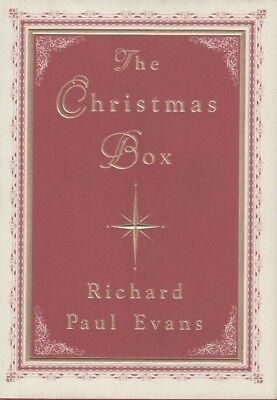 The Christmas Box - HC DJ - Richard Evans - First Printing / First Edition   eBay