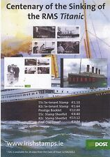IRELAND 2012 TITANIC~A3 POST OFFICE INFORMATION POSTER