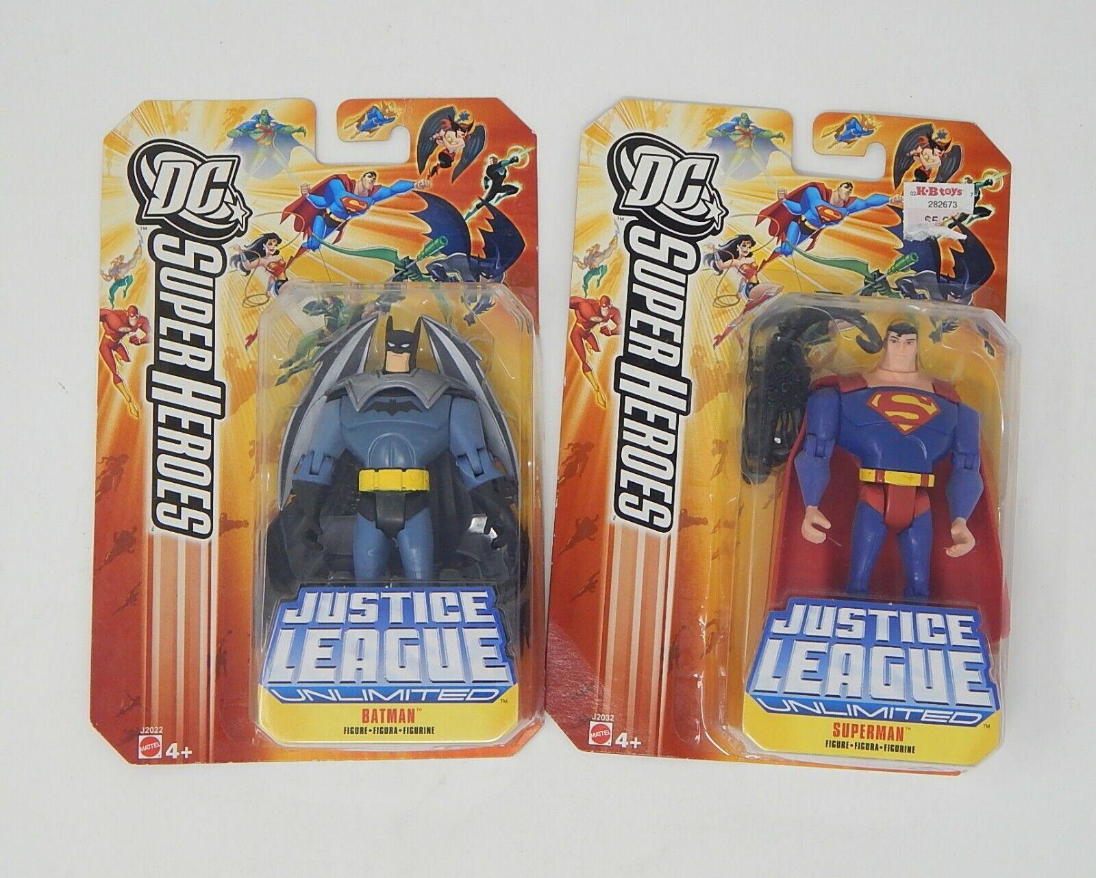 Justice League Action Figure Lot Superman Batman Wonder Woman R19672