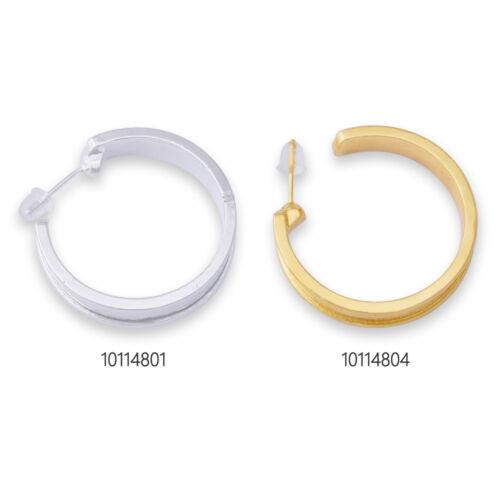 10 Fashion Hoop earrings large hoop earrings simple /&modern earrings 25mm loop