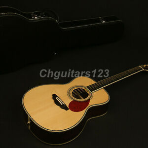 Zuwei-Hardmade-Edition-Acoustic-Guitar-Full-Solid-Spruce-Top-amp-Rosewood-Back-amp-side