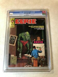 EERIE ANNUAL 1972 CGC 9.6 NM+ Ditko Toth Neal Adams Sutton SPIDERS ARE REVOLTING