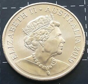 JODY CLARK NEW EFFIGY 2019 AUSTRALIAN 20 CENT COIN