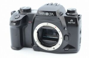 *Rare Near Mint CLEAN Finder!!* Minolta α 507si 35mm Film camera 6031