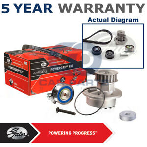 Gates-Timing-Cam-Belt-Water-Pump-Kit-For-Opel-Saab-Vauxhall-Tensioner-KP25499XS2