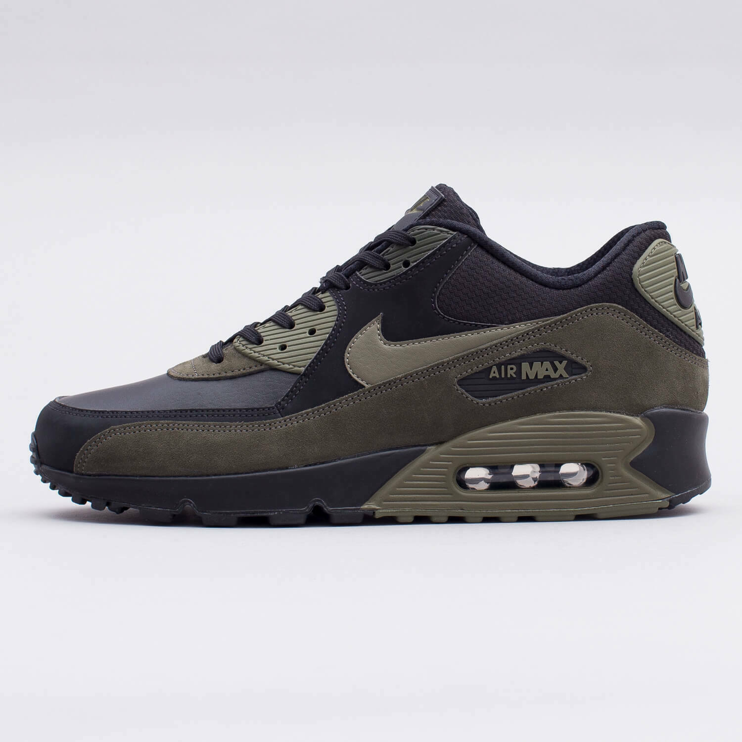 Size 8.5 - Nike Air Max 90 Medium Olive 2018 for sale online | eBay