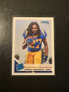 2019-Donruss-Rated-Rookie-Darrell-Henderson-RC-RAMS