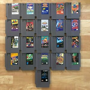 Lot-of-21-Nintendo-Entertainment-System-NES-Games-Great-Condition-Used-V01
