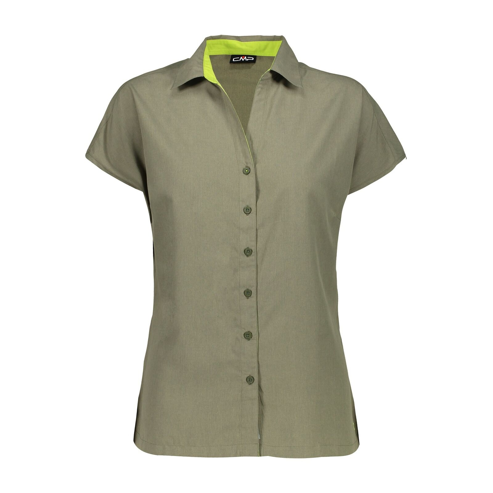 CMP woman brown shirt blouse  breathable antibacterial predection-uv mottled  sale online save 70%