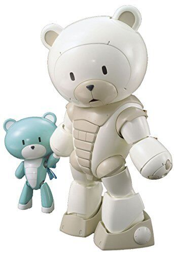 BANDAI Gundam Build Fighters Try 1 144 Scale Beargguy Familiy HGBF