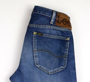 Lee Hommes Blake Jeans Jambe Droite Taille W31 L32 AMZ1230
