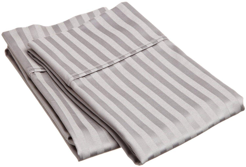 Luxor Treasures Egyptian Cotton 400 Thread Count Striped 3-piece Duvet Cover Set