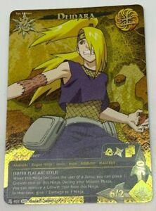 NARUTO-CCG-TCG-DEIDARA-SUPER-RARE-CARD