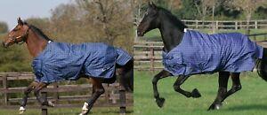 Details About Mark Todd 250g Medium Weight Standard Neck Mediumweight Horse Turnout Rug