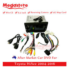 "6.2"" Car DVD GPS Navigation Head Unit Stereo Radio For Toyota HiAce 2004-2016"