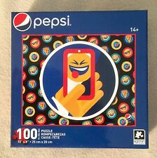 Karmin International Pepsi Emoji Selfie Phone Picture 100 pc Puzzle - NEW -