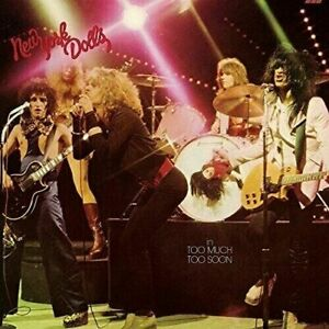 New-York-Dolls-In-Too-Much-Too-Soon-Vinyl-New-amp-Sealed