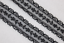 """5 yards BLACK sewing doll Craft Non Stretch Poly Lace ribbon 1/"""" wide ws7 #K"""