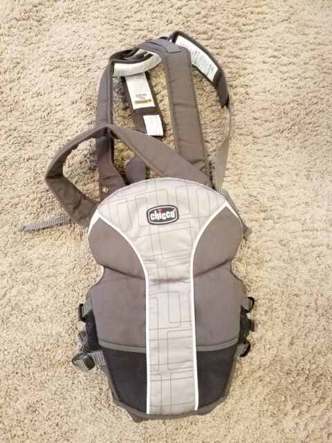 Chicco Ultrasoft 10960 Gray Baby Sling Carrier