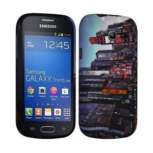 Détails sur Housse Etui Coque Semi Rigide pour Samsung Galaxy Trend Lite ( s7390) avec motif