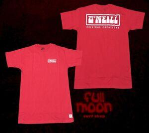 New-O-039-Neill-Original-Creations-Tee-Classic-Mens-Red-T-Shirt