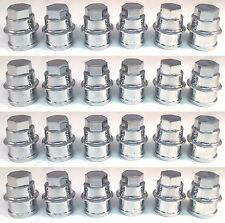 24 NEW CHROME Lug Nut COVERS CAP CHEVY GMC SILVERADO 1500 FULL SIZE TRUCK VAN