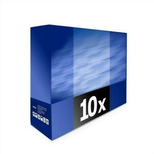 10x Europcart Toner for Canon GP-210 IR 200 d e With Per Approx. 9.600 Pages