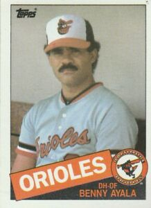 FREE-SHIPPING-MINT-1985-Topps-624-Benny-Ayala-Orioles-PLUS-BONUS-CARDS