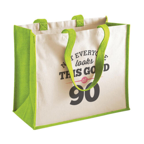 90th Birthday Looking Good Gift Women's Ladies Shopping Bag Present Tote Idea