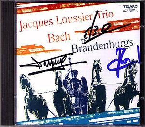Jacques-LOUSSIER-Signed-Bach-the-Brandenburg-Brandenburg-Concerto-CD-TELARC