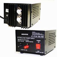 Audiotek - Output 16a Amp Mobile 13.8 Volt Dc Power Supply At-ps16