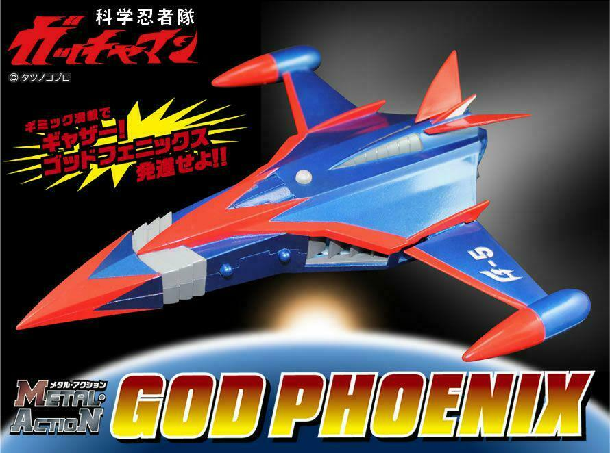 Evolution  giocattolo Gatchauomo God Phoenix Metal azione cifra  presa
