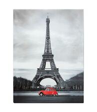Leinwand Bild Keilrahmen Wandbild 46x61 Paris Eifelturm Frankreich