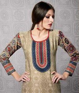 Indian Bollywood Kurta Kurti Designer Women Ethnic Dress Top Tunic Pakistani xxl