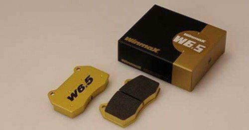 Winmax W6.5 Front Brake Pad For ATENZA 05.02- GY3W(?????????) 2WD WITHOUT 18IN