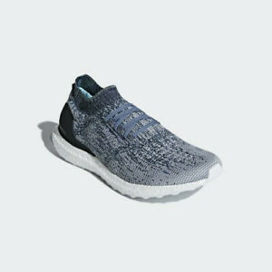 Details about New Adidas UltraBoost Uncaged Parley AC7590 Blue White, Running Shoes Sneakers