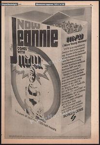 I-DREAM-OF-JEANNIE-Original-1971-Trade-print-AD-TV-series-promo-BARBARA-EDEN
