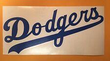 Los Angeles Dodgers Vinyl Decal Sticker MLB Vinyl Van Car Window 10 X 4.7 Inches