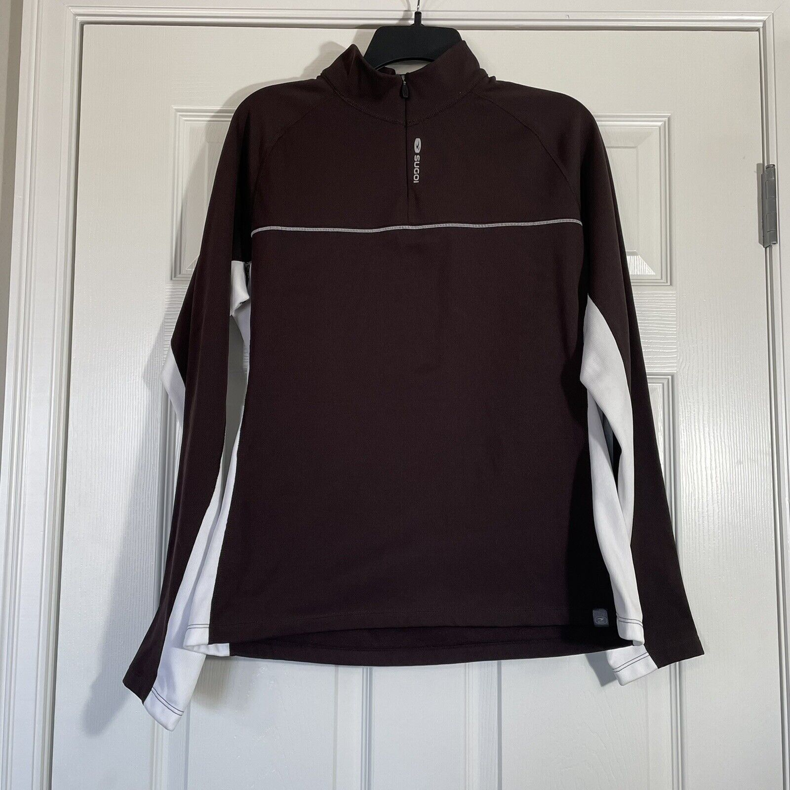 Sugoi XL Long Sleeve Pullover Cycling Top Fleece Lined