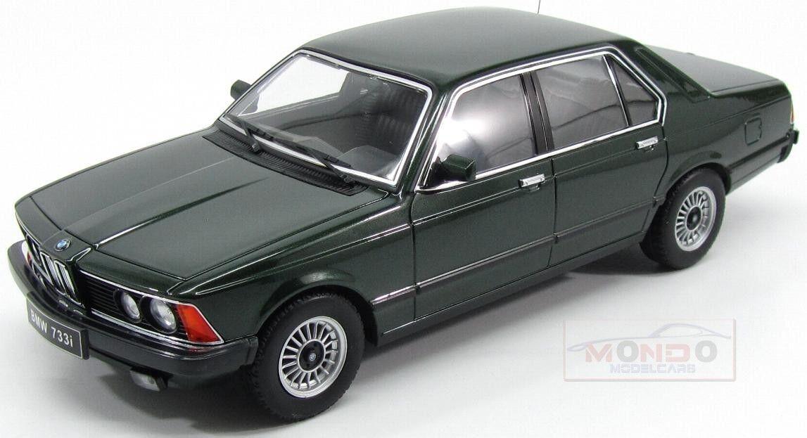 Bmw 7-Series 733I 733I 733I (E23) 4-Door 1977 Green Met KK Scale 1 18 KKDC180103 046