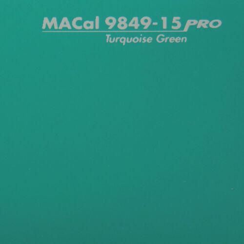 Autofolie 10 m 5,00 € //m PKW KFZ Folie türkisgrün glänzend 61,5 cm