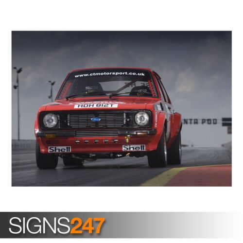 CLASSIC CAR POSTER AA931 FORD ESCORT Photo Picture Poster Print Art A0 to A4