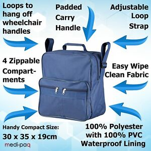 Medipaq-Wheelchair-Bag-Shopping-Mobility-Storage-Holdall-Disabled-Scooter